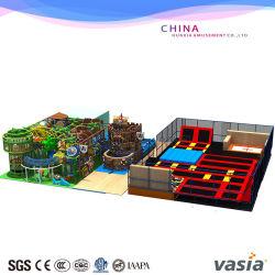 Vasia freie springende TUV anerkannte Qualität scherzt ökonomische Federelement Indoor&Outdoor Trampoline
