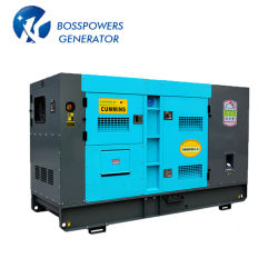 60Hz 50Hz 100kVA 500kVA 1000kVA 3 Phase CumminsパーキンズYanmarリカルドElectric Generating Sets Open Silent Soundproof Diesel Power Generator