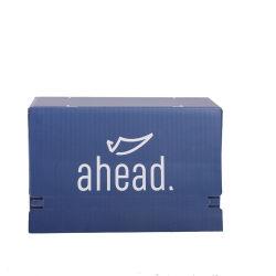 Azul de papel Corrugado reciclable personalizada cuadro Mailer Paquete en venta