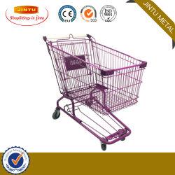 Supermarkt-Karren-Kind-Sitzeinkaufen-Laufkatze