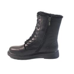 2020 Novo Superior PU impermeável Senhoras Botas confortáveis Moda Western meados de vitelo sapatas das mulheres as mulheres Botas de Inverno