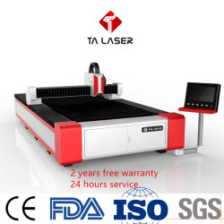 Laser-Ausschnitt-Maschinen-niedrigster Preis-bester Service der Faser-1.5kw