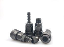 El Acoplador Rápido neumáticas de acero rápido de la manguera de aire de liberación rápida Enchufe los conectores de aire