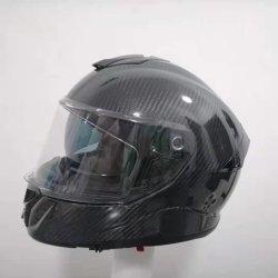 오토바이 액세서리 안전 보호장치 ABS 모듈식 헬멧 플립업 가득 참 Face Open Jet Half F158A DOT & ECE 승인 핀락 바이저를 사용할 수 있습니다