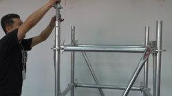 構造用の完全な金属リングロック足場システムセット