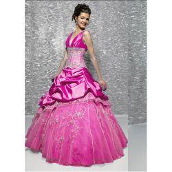 Sweet Dezesseis Nice vestido Quince; Beca (7588)