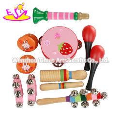 Großhandel 10pcs musikalische hölzerne Spielzeug Rhythmus-Set für Kinder W07A163