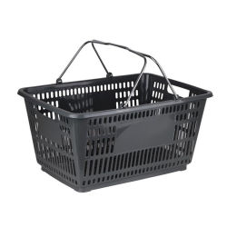 Moderno personalizado Cesta de compras al por mayor con ruedas