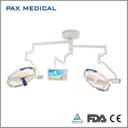 مصباح تشغيل Panalex مع كاميرا عالية الدقة وشاشة الذراع الثالثة ضوء جراحي للكاميرا