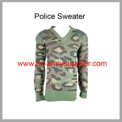 La policía Cardigan-Police Jumper-Police Jersey-Police Pullover-Camouflage Suéter de la policía