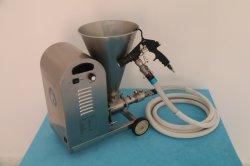 L'imperméabilisation des revêtements de mortier de ciment de plâtrage Machine de pulvérisation