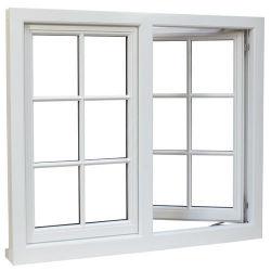 Europese/Amerikaanse stijlen Aluminium/PVC/PVC/IJzeren glazen raam en deur