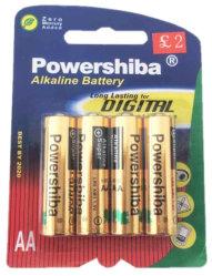 Batterie der Zellen-1.5V/Dry/Primär-/Power/No Mercury/nicht wiederaufladbare/zusätzliche langlebige Batterie //Lr03-AAA/Lr6 AA/Alkaline zur Spielwaren-Steuerung/der Taschenlampe/dem Taktgeber/der Kamera