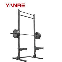 Nouveau design de gros accueil Utiliser l'espace l'enregistrement de la salle de gym du matériel de Fitness Squat Stand
