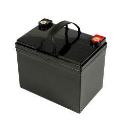 ولاعة أمان فائقة بجهد 12 فولت وقدرة 30 أمبير LFPO4 وزن Lithium فوسفات بطارية لأنظمة تخزين الطاقة الشمسية/ RV/ سيارة التخييم/ الطاقة الشمسية ضوء الشارع