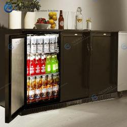 Barra posteriore commerciale sotto il banco piccola birra incorporata e. Bottiglia di vino 3 (Tripla) frigorifero a porta piena frigorifero conservazione Prezzo In vendita (NW-LG330M)