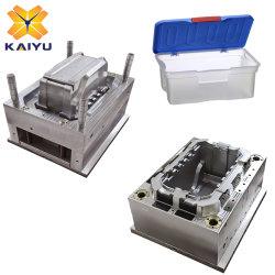Almacenamiento de pared delgada de plástico de la caja de herramientas de contenedor de molde de moldeo por inyección