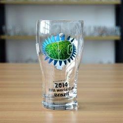 20oz пользовательские печать World Cup сувенирный стеклянный сосуд пиво Steins