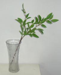 Verde Hoja Artificial realista Bouquet planta para la decoración de interiores