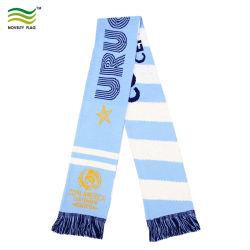Os fãs de desporto National 100% acrílico lenço de malha (B-NF19F10020)