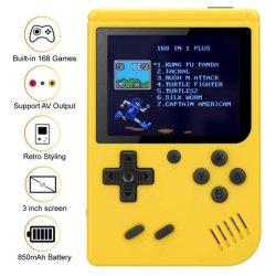 Портативное устройство игровая консоль Gameboy ретро мини-FC 168 классических игр