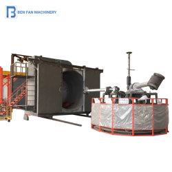 プラスチック製品のための3つのアームRotomolding機械