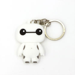 PVC molle LED Keychain di figura personalizzato regali promozionali
