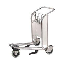 3 roues chariot de l'aéroport de voyage pour l'achat de souvenirs Boutiques hors taxes