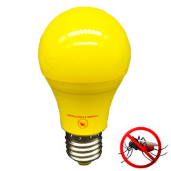 Energiesparender 9W A60 gelber Moskito-abstoßende Mörder-Lampe der Farben-LED für elektrisches Licht der Birnen-E27 B22 der Abwechslungs-CFL
