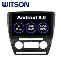 Witson Android 9.0 Radio pour voiture Skoda Auto superbe 2010-2014 climatiseurs Version 4Go de RAM 64 Go de mémoire Flash grand écran