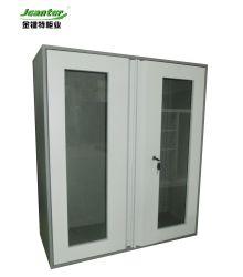 Pacote Flat Iron 2 portas de vidro Mini-file cabinet