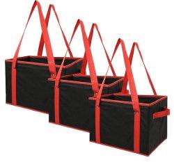 容易な持ち上がることのための再使用可能な折りたたみショッピング・バッグの余分側面のハンドル