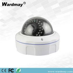 3.0MP H. 265 Camera van kabeltelevisie IP van de Veiligheid van de Koepel van het Sterrelicht de Professionele Vandalproof