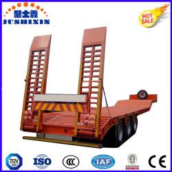 Верхней Части марки Tri-Axle 100 тонн для тяжелого режима работы низкой кровати Полуприцепе