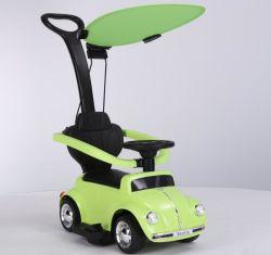 Stampfer genehmigte Kind-elektrische Fahrt auf Auto mit Stoss-Griff