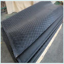 Отставание Anti-Abrasion сдвиньте шкив Diamond резиновый напольный лист ромб резиновый коврик