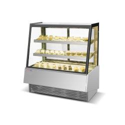 Refroidissement par air vitrine de présentation des appareils frigorifiques Classcial gâteau