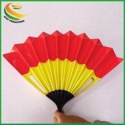 Marqueur de bruit du ventilateur de pliage du papier bannière battants battants à main pour les événements sportifs