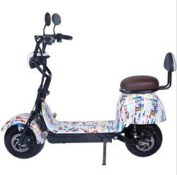 800W 1000W 2륜 미니 팻 타이어 휠 소형 해리 어린이용 Citycoco 스쿠터 리튬 배터리