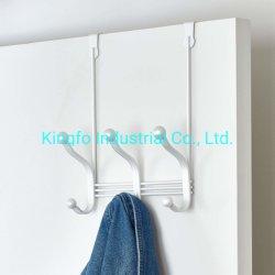 La puerta de metal sobre el Organizador, gancho de 3 estante para abrigos, sombreros, batas, toallas, chaquetas, bolsos, dormitorio, vestidor y baño Kfh3022