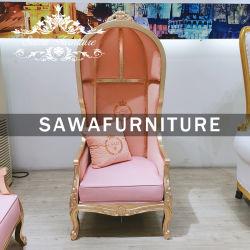 Cadeira única cadeira trono para o hotel caso de casamento e decoração de Banquetes