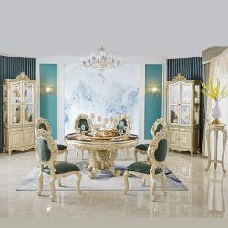 Mobiliário de sala de jantar mesa de jantar com cadeiras sofá de jantar em madeira