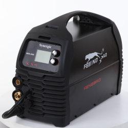 MIG-200 inversor IGBT portátil sinérgica MMA/TIG/Mag/Flux/Solda MIG