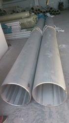 Tubes soudés en acier inoxydable de tube de métal TP321