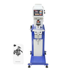 طابعة لوحة حبر شبه آلية بطابعة Tampografia شبه آلية للطباعة من أجل طباعة صورة واحدة بالألوان