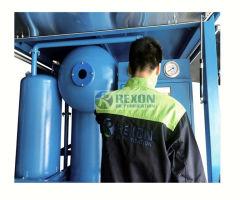 高圧オイルの処理のための高真空機械変圧器の油純化器