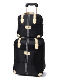 OEM 찰상 증거에 의하여 선회된 트롤리 여행 가방은 자물쇠를 가진 수화물을 싼다