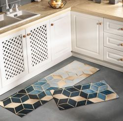 Anti-fatigue PVC de tapis de cuisine