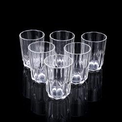 China-Hersteller-gerades Tee-Glascup-kleines Kaffee-Bier-Wasser-Glas-Cup