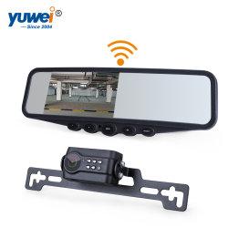 Câmera para visão traseira do carro e espelho de 4,3 polegadas de vídeo para o sistema de retrovisor